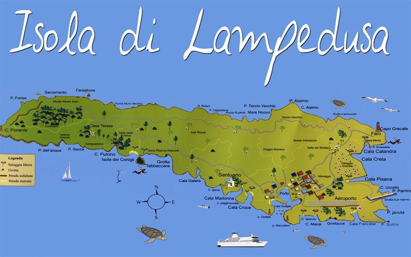 Lampedusa Sulla Cartina Geografica.L Isola Di Lampedusa Noleggio Lampedusa Autonoleggio Lampedusa Noleggio Auto Lampedusa Noleggio Scooter Lampedusa